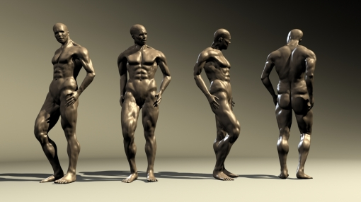 Male Turnaround Sculpts